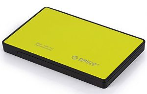 yellow ssd enclosure
