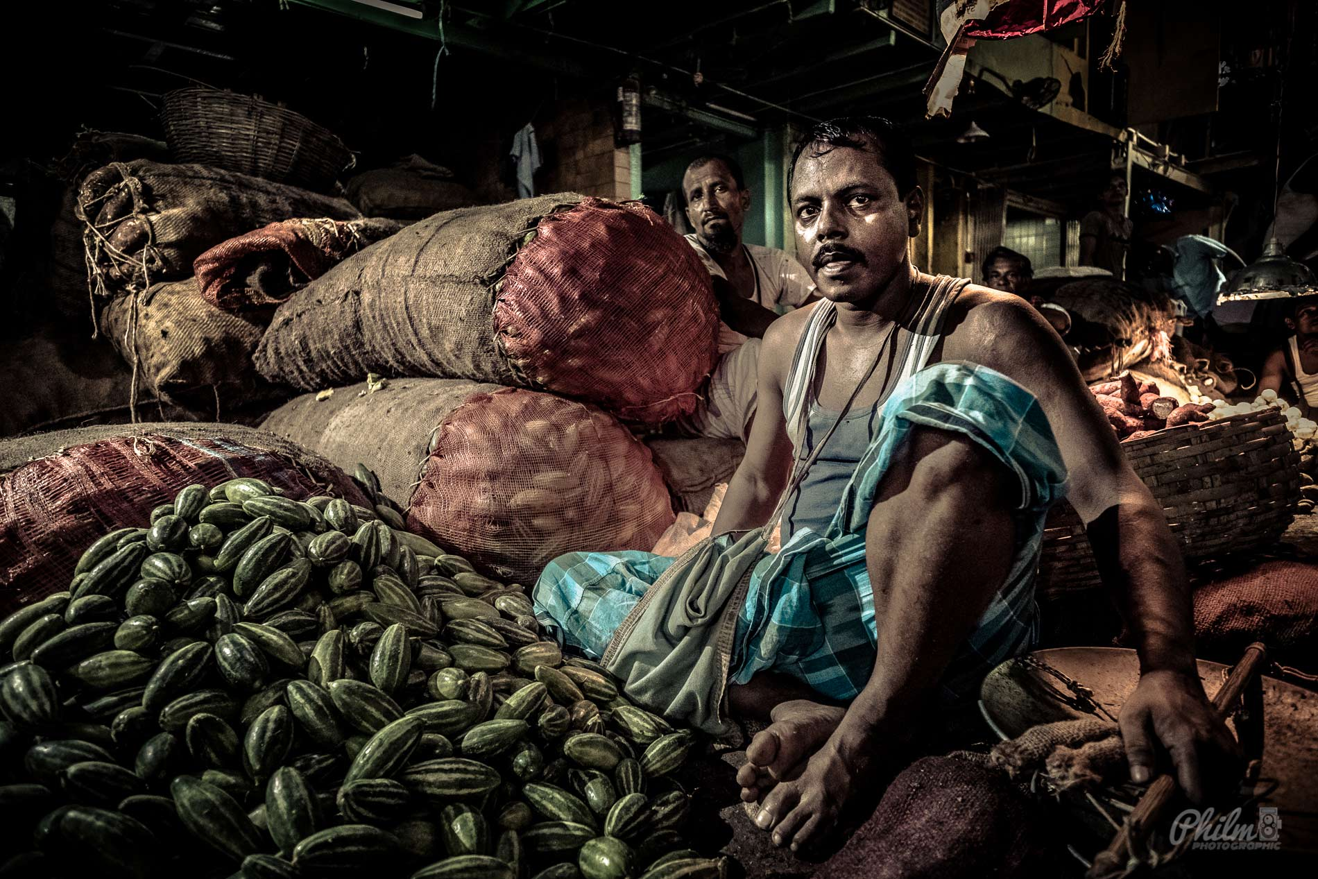 Markets of India – Portraits with a 14mm?