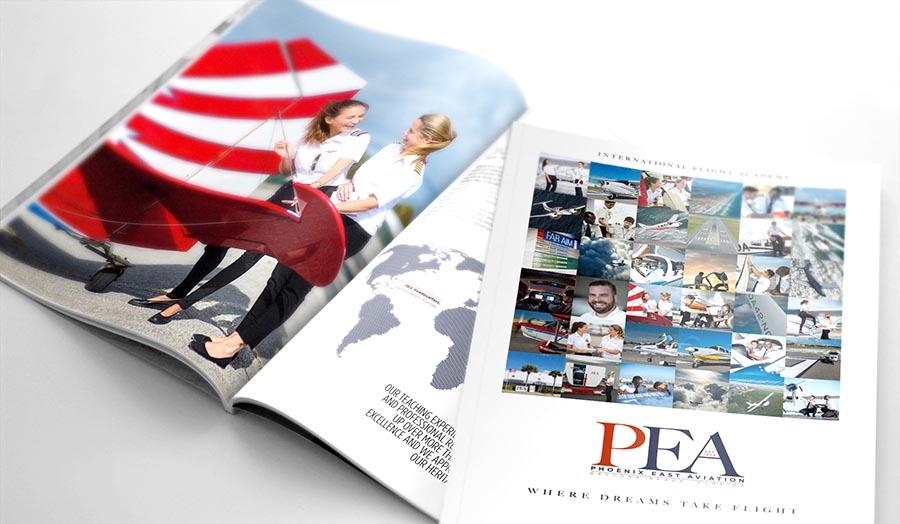 PEA Mockup brochure