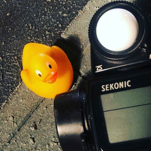 "My new friend ""lucky Ducky"" will be with me on set!"